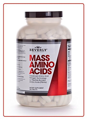 Beverly International Mass Amino Acid Tablets -- 500 Tablets