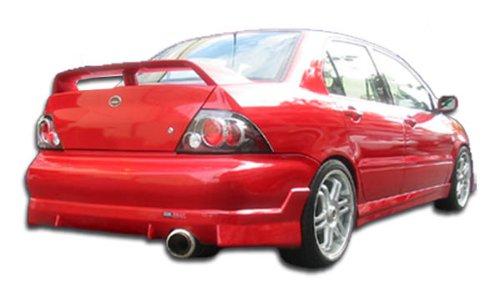 Duraflex Replacement for 2002-2003 Mitsubishi Lancer Walker Rear Bumper Cover - 1 Piece
