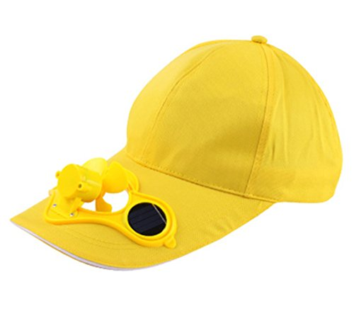 Price comparison product image Arsmt Solar Powered Fan Cooling Solar Panel on the Cap Front Baseball Hat