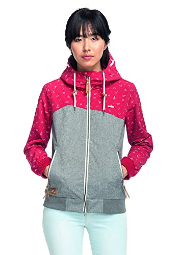 Ragwear–Chaqueta con Capucha Rojo Pimiento XS