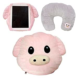 Amazon.com: WEP almohada rosa emoji caca, reina, princesa ...