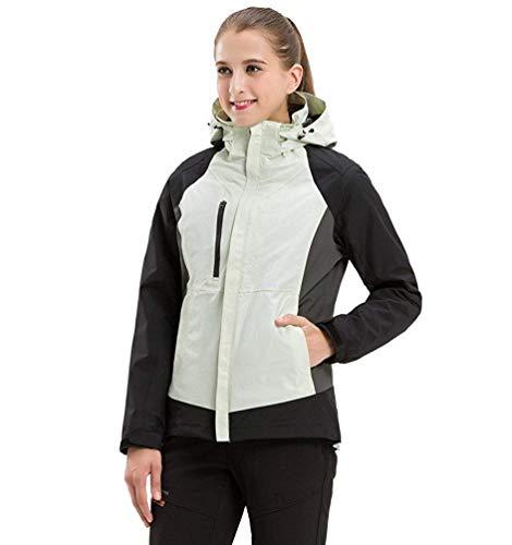 Escursionismo Camicie large Piumini E Oudan Per Impermeabili Fodera Uomo Softshell Donna Viaggio women X Da Alpinista Giacche White colore Dimensione SvgwpHqwz