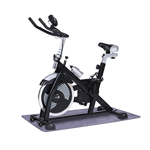 URSTAR Indoor Fitness Cycle Bike Exercise Bike with Computer Monitor and Heart Pulse Sensors – DiZiSports Store