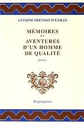 Mémoires et aventures d'un homme de qualité (1728): [roman] (Collection XVIIIe siècle) (French Edition)