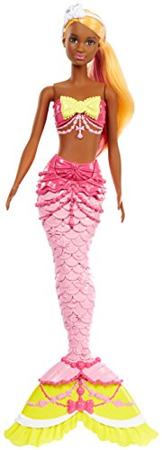 Barbie Dreamtopia Mermaid Doll, Yellow (Barbie Mermaid Doll)