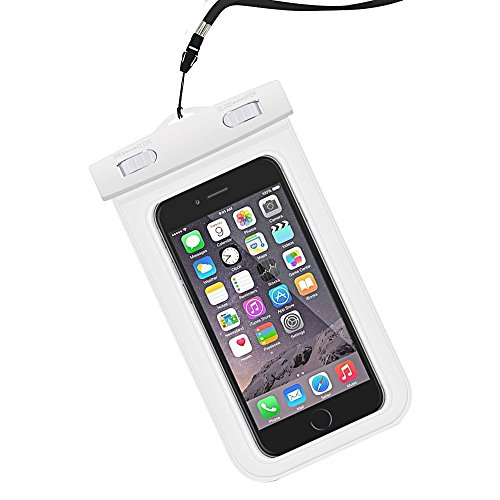 (Parboo Waterproof Case - Waterproof Phone Ppouch - Universal Cell Phone Dry Bbag Pouch, Waterproof Phone Case for iPhone Galaxy Note HTC LG up to 6.0