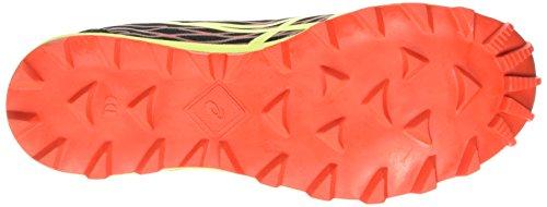ASICS - Gel-fujirunnegade 2 Plasmaguard, Zapatillas de Running hombre Rojo (orange/flash Yellow/black 0907)