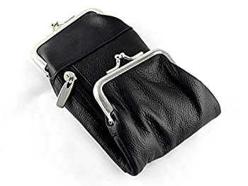 Skyway Black Leather Deluxe Cigarette Case Pack Holder