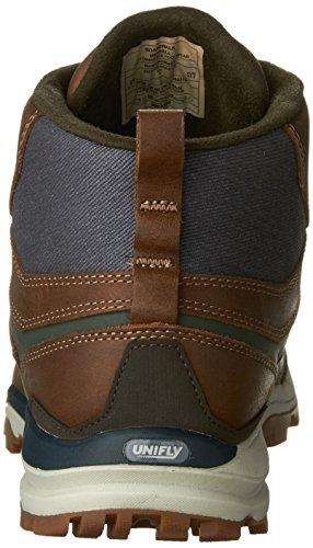 Merrell All Out Crusher Mid - Calzado - marrón/azul 2016 Boardwalk