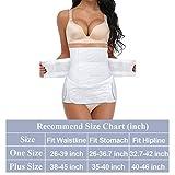 Postpartum Support Recovery Belt,Waist Pelvis Belly Belts Gauze Girdle Binder Body Shaper Postnatal Belly Wrap Waist