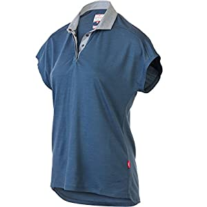 Giro New Road Mobility Polo Jersey - Short Sleeve - Women's China Blue, L