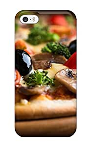 Anne C. Flores's Shop Durable Case For The Iphone 5/5s- Eco-friendly Retail Packaging(pizza With Olives) 4329678K61845315