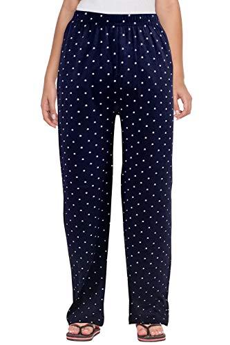 Fflirtygo Women Pyjama Cotton, Night Dress, Lounge Wear, Polka Dot Pyjama,–Soft -Cotton Night Wear