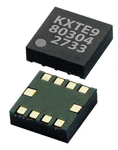 Accelerometers 3.3V Digital I2C 2g, Pack of 25 (KXTE9-2050)