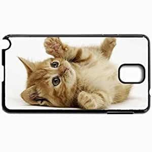 Customized Cellphone Case Back Cover For Samsung Galaxy Note 3, Protective Hardshell Case Personalized Cats Little Kitten 29675 Black