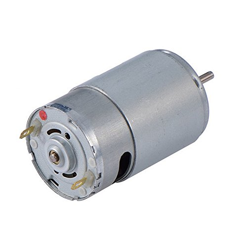 BestTong RS-550s 18V (6V - 24C) DC Motor - High Power Torque for DIY Electric/Electronic Projects, Drills, Robots, RC Vehicals, Remote Controlled Cars, Robot, Saw Repair/Replacement Engine and More (18 Volt Dc Motor)