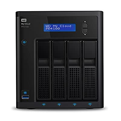 WD Cloud Pro Series Network Attached Storage from WD