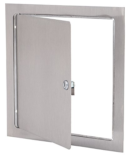 Elmdor 12''x24'' DW Series Access Door For Drywall Applications, Galvanized Steel, Primed For Paint DW Access Panel by Elmdor