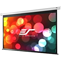 Elite Screens Spectrum, 100-inch Diag 4:3, Electric Motorized 4K Ready Drop Down Home Theater Projector Screen, ELECTRIC100V
