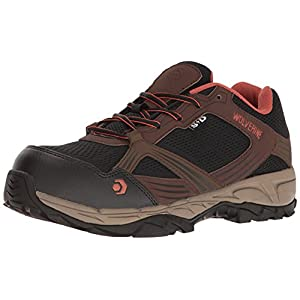Wolverine Men's Rush Esd Comp Toe Hiker Work Boot, Brown/Black, 9 M US