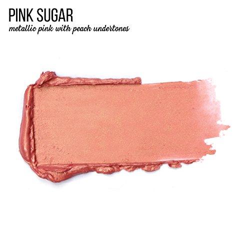 Super Moisturizing Lipstick by Luscious Cosmetics. Vegan and Cruelty Free - Pink Sugar - 0.12 Ounce
