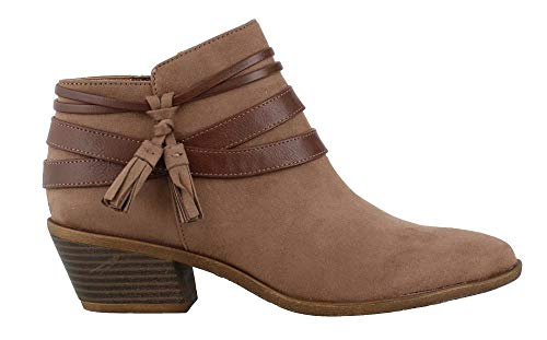 (LifeStride Women's, Paloma Ankle Boots Mushroom 7 W)