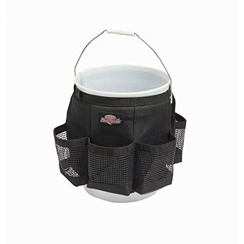 Bucket Boss Wash Boss Bucket Tool Organizer in Black, AB30060