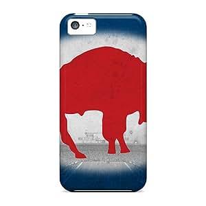 High Grade AndrewWMorton Flexible Tpu Case For Iphone 5c - Buffalo Bills