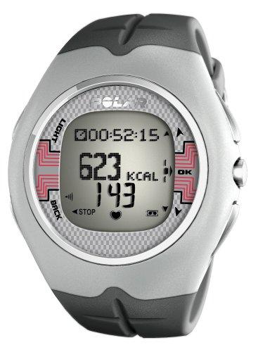 (Polar F7 Men's Heart Rate Monitor Watch (Grey))