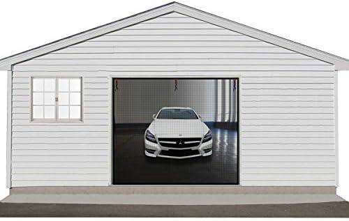 GARAGE MESH GUARD FOR SINGLE CAR GARAGE DOOR SCREEN MOSQUITO BUGS NET PROTECTION