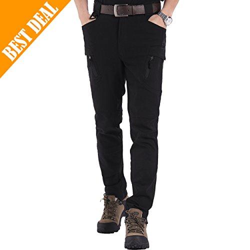 Zbt Rock (SEEU Men's Tactical Pants, Outdoor Pants for men Black L)