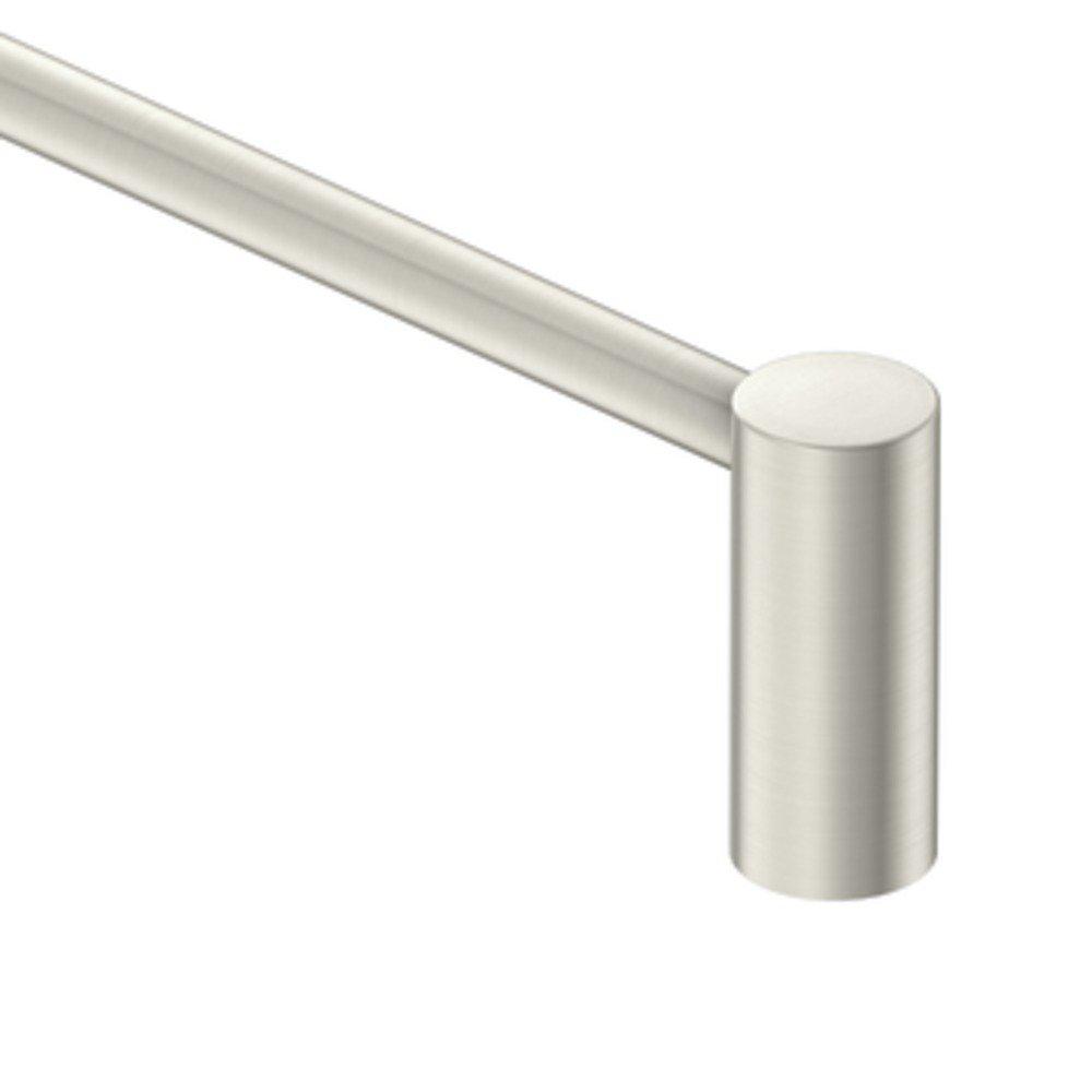Moen YB0424BN Align 24-Inch Modern Single Towel Bar, Brushed Nickel