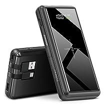 Zonhood モバイルバッテリー 大容量 26800mAh ワイヤレス充電 4台...