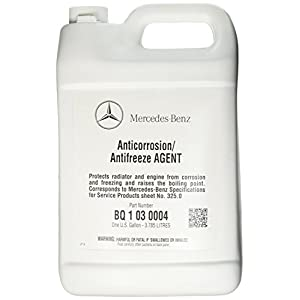 Mercedes Benz Engine Coolant / Antifreeze (1 Gallon) (BLUE Color)