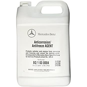 Mercedes benz engine coolant antifreeze 1 for Mercedes benz coolant