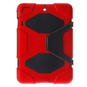 Purchase Military Duty PC + Silicone Combo Case for iPad Mini 1/iPad Mini 2 with Kicktand , Black