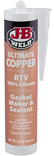 Price comparison product image J-B Weld 32925 Ultimate Copper High Temperature RTV Silicone Gasket Maker and Sealant - 9.5 oz.