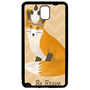 Samsung Note 3 case,Samsung Note 3 rubber cover fashion Style Fancy Colorfulpatibility Samsung Note 3 Case Features black Cover, Style Special Design with Native Aztec King of the Foxes