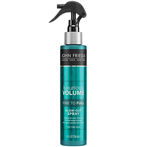 John Frieda Collection Luxurious Volume Fine to Full Blow Out Spray 4 oz (Pack of 6)