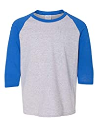 Mens 5.3 Oz. 3/4-Raglan Sleeve T-Shirt (G570B)