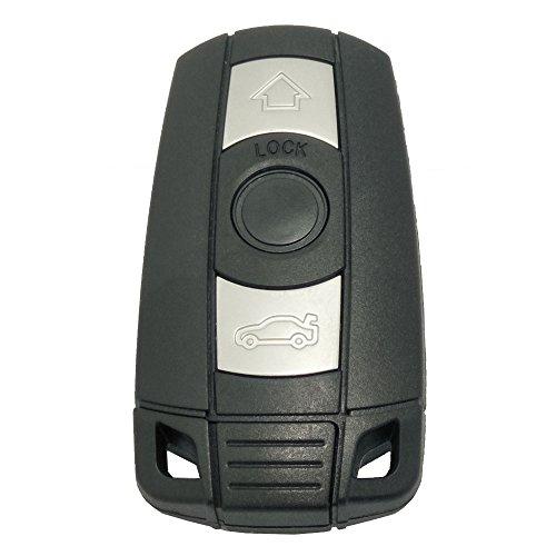 Keyless Entry Remote Control Car Key Fob Case for BMW 3 5 Series BMW X5 BMW X6 BMW Z4 Replacement Key - Bmw Comfort Shell