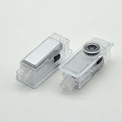 Lumi/ère de bienvenue Classe A W218, X218 KVCH 1 paire LED Lumi/ères de courtoisie Installation facile Porte de voiture Projecteur laser Logo Ghost Ombre Lumi/ères pour BENZ CLA 2013-2015 // CLS
