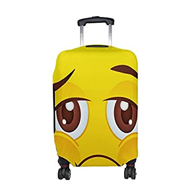 Travel Luggage Cover Spandex Suitcase Protector Washable Baggage Covers for 18-32 Inch Luggage