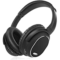 Noise Cancelling Headphones, Vogek Over-Ear Wireless Bluetooth Headphones with Microphone, Volume Control and Wire Mode for PC / Cell Phone