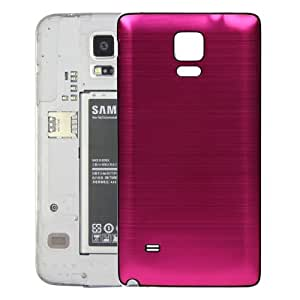 Lopurs Black Edge Brushed Texture Back Cover Replacement Back Door Replace for Samsung Galaxy Note 4-rose