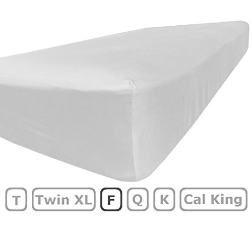 Full Size Fitted Sheet Only 100 Brushed Microfiber 10 Inch Deep