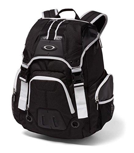 OakleyメンズギアボックスLX B01G44C6D4  ブラック/ホワイト One Size