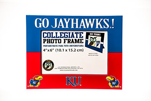 Collegiate Pulse Kansas Jayhawks NCAA PVC Photo Frame