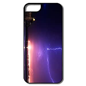 Design Lightning Night Cover For Iphone 5 5S