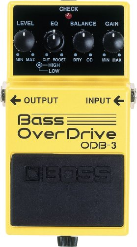(Boss ODB-3 Bass Overdrive)